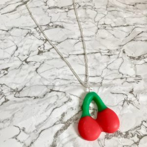 Giant Cherry Necklace