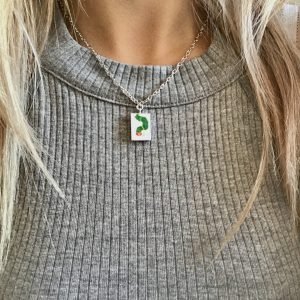 Hungry Caterpillar Necklace