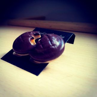 Jaffa Cake Stud Earrings