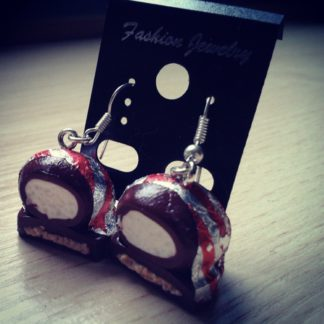 Tea Cake Dangle Earrings